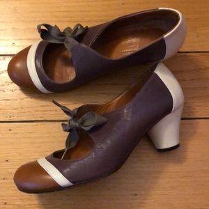 Anthropologie Chie Mihara Spectator Heels Pumps 7